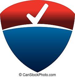 Shield Checklist Emblem