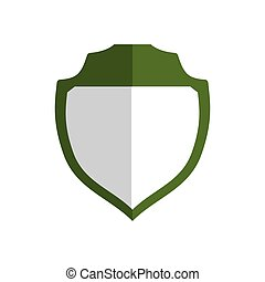 Shield icon. Insurance design. Vector graphic