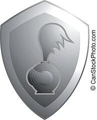 Shield metal