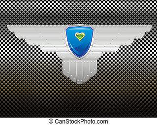 Shield on the lattice
