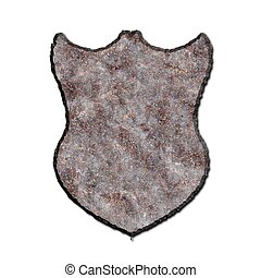 shield., oxidado