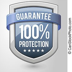 shield., protection, guaranteed