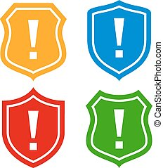 Shield protection icon
