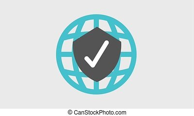 shield protection icons - shield antivirus protection icons...