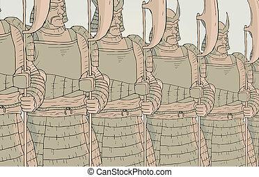 Shield samurai