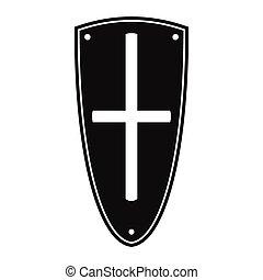 Shield simple icon