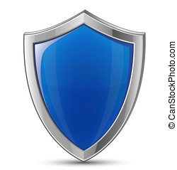 Shield symbol - Protection concept. Vector illustration of...