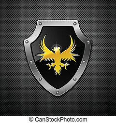 shield., vector.