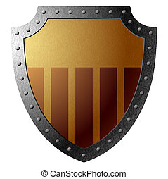 Shield - Vector illustration of a shield