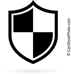 Shield vector pictogram