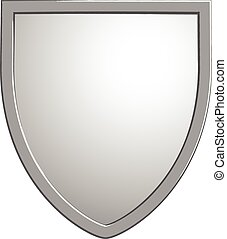Shield vector symbol isolated