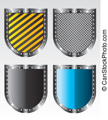 Shields icons illustration