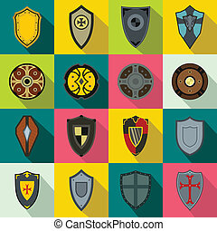 Shields set icons