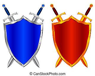 shields.