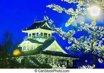 Nagahama Castle - Shiga Prefecture, Japan - April 13, 2013: ...