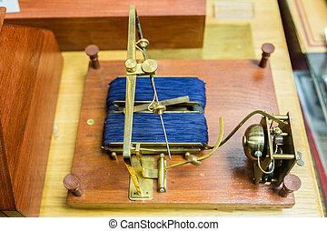 shilling's, electromagnético, telégrafo