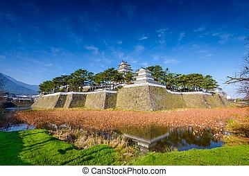Shimabara Castle in Shimabara, Nagasaki, Japan.