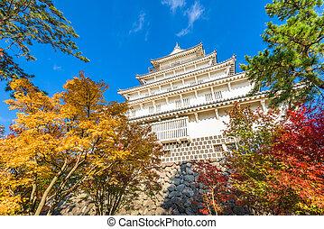 Shimabara Castle, Japan - Shimabara, Nagasaki, Japan at the...
