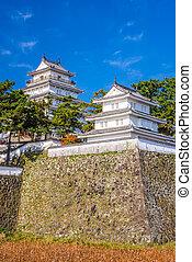 Shimabara Castle, Japan - Shimabara, Nagasaki, Japan Castle.