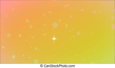 Shimmering background bokeh