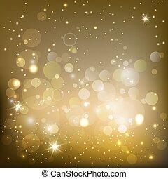 shimmering background - golden sparkling background with...