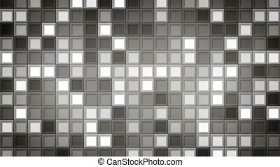 shimmering gray squares loopable background