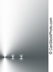 Shimmering Steel - Abstract design of points of light in a...