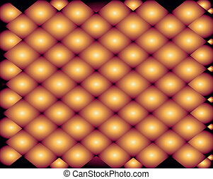 Shine background orange color burst