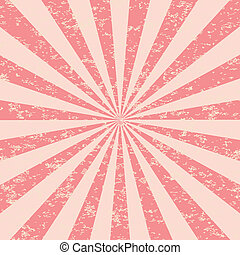 Shine Burst - Abstract Retri Rays Burst Pattern. Vector...