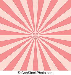 Shine Burst - Abstract Retri Rays Burst Pattern. Vector...