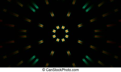 shine circle disco light background