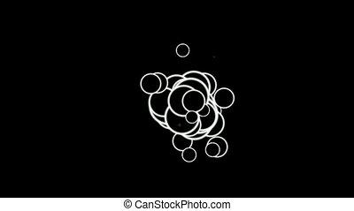 shine circles and bubble.