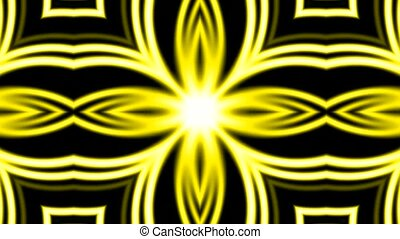 shine golden electricity flower