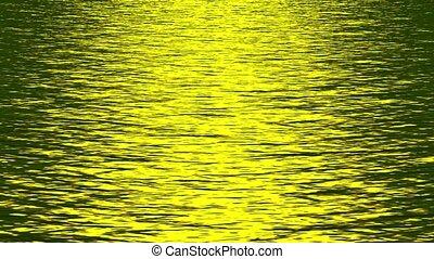 shine golden light reflecting
