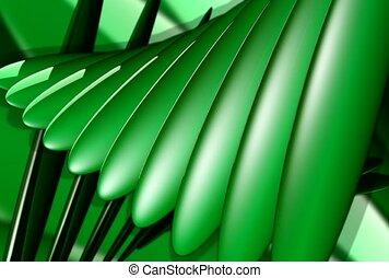 shine, green, swivel