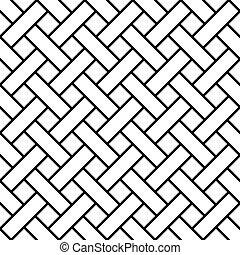 shinglas, 藝術, 編織, 圖案, seamless, 斜紋織物, 屋頂板, 線, 幾何學, 條紋, 板條,...
