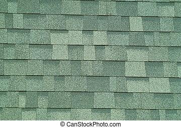 Shingle Background - A close up view of shingle texture.