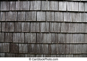 Shingles close up shot for background