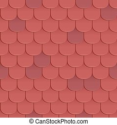 Seamless Roof Shingles A Texture That Looks Like Scales