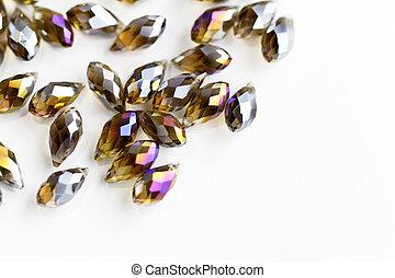 Shining beads - macro