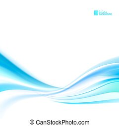 Shining blue flow. Business elegant blue abstract background...