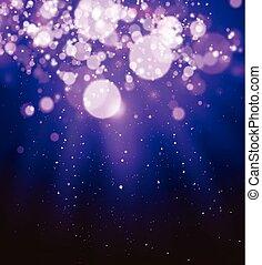 Shining blur bokeh background for your design. Vector illustration