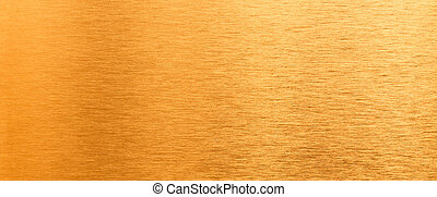 Shining brushed brass texture