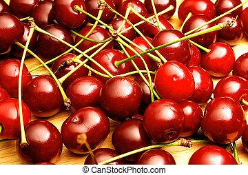Shining cherries