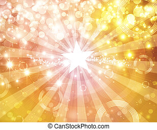 shining festive background bokeh
