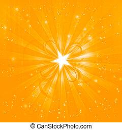 shining festive golden background