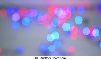 Shining garland lights