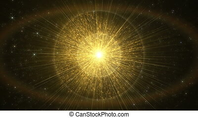 Shining golden abstract background.