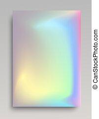 Shining hologaphic vertical backdrop