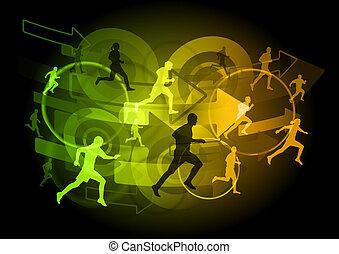 shining runners